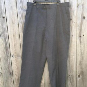 Perry Ellis Portfolio Dress Pants Gray 38/34 NWT